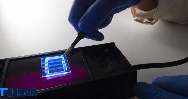 تولید صفحه نمایش OLED با موی انسان