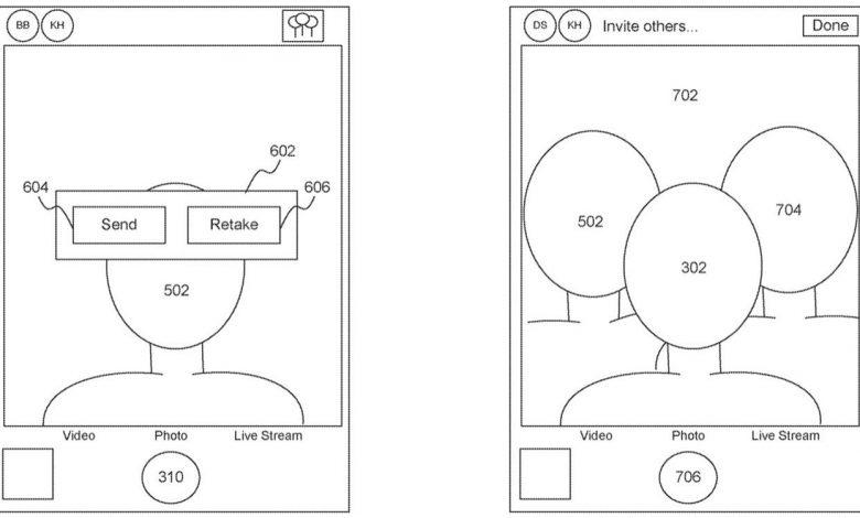 ثبت پتنت جدید اپل برای گرفتن عکس سلفی گروهی و حفظ فاصله گذاری اجتماعی