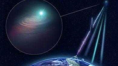 Photo of ستاره شناسان موفق به رصد انفجارهای رادیویی منظم از یک منبع ناشناس شدند