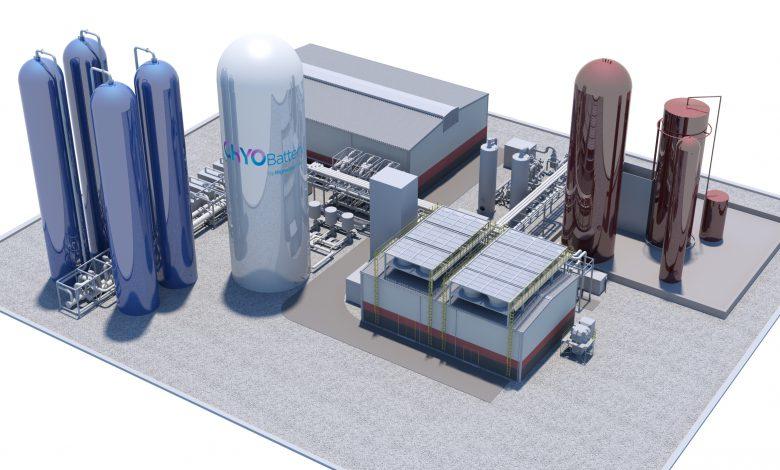 ساخت تاسیساتی شبیه به یک باتری غول پیکر که می تواند با هوای فشرده انرژی ذخیره کند