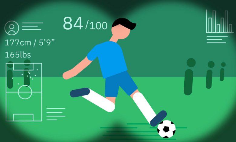 استعداد یابی فوتبال با استفاده از هوش مصنوعی