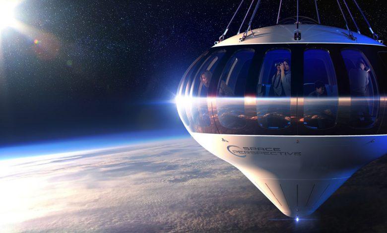 ارسال توریست های فضایی به لبه فضا و استفاده از بالون های غول پیکر