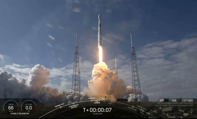 اسپیس ایکس موفق به پرتاب 60 ماهواره جدید دیگر شد