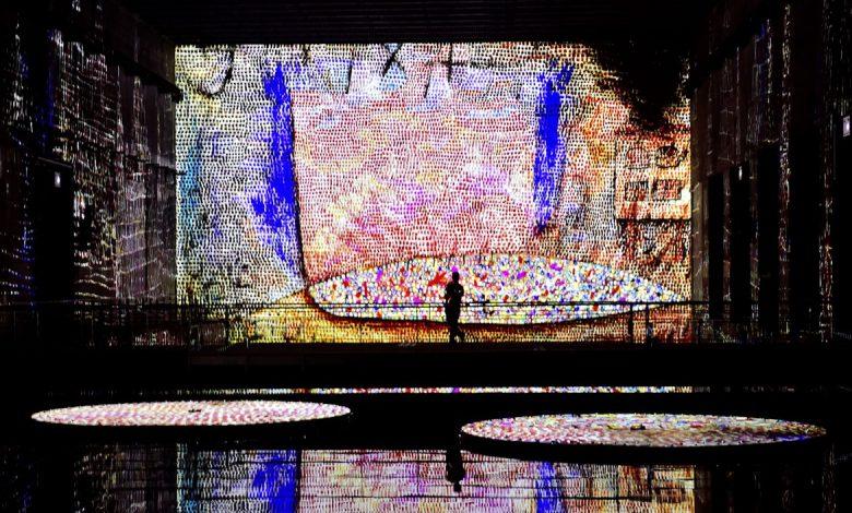بزرگترین گالری هنر دیجیتال جهان در پایگاه زیردریایی نازی ها