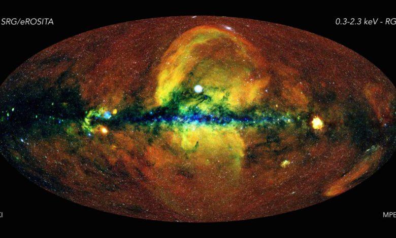 دانشمندان توانستند با کمک اشعه ایکس نقشه کیهان را تهیه کنند