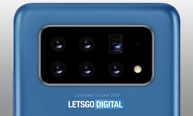 پتنت جدید ثبت شده توسط سامسونگ وجود ۶ دوربین متحرک را نشان میدهد