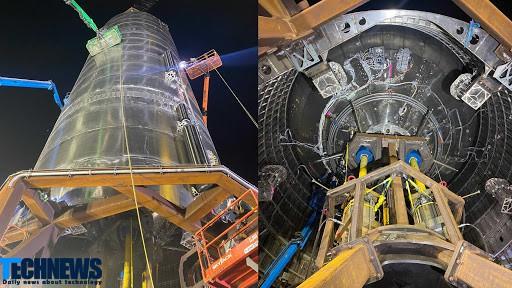 اسپیس ایکس برای اولین بار تصاویری از ابر مخازن موشک استارشیپ منتشر کرد