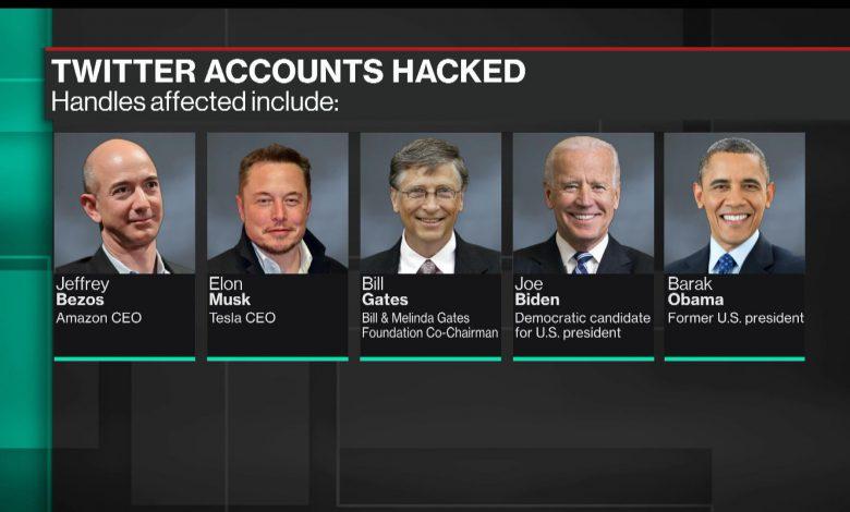 پروفایل های مشهور توییتر هدف حمله هکرها قرار گرفت