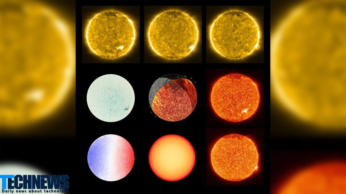 نزدیک ترین تصاویر ثبت شده از خورشید توسط مدارگرد سولار