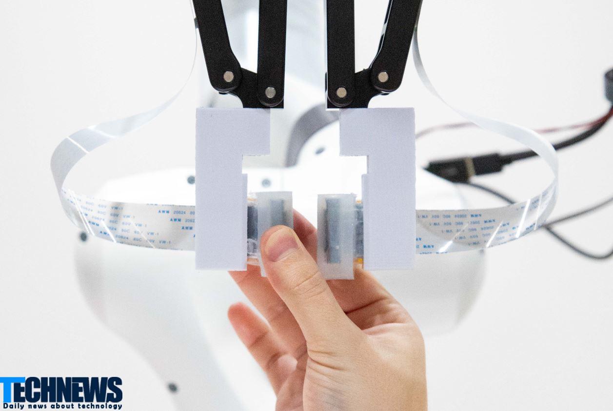 ساخت نوعی پوست مصنوعی با استفاده از چیپ اینتل که رباتها را قادر به لمس میسازد
