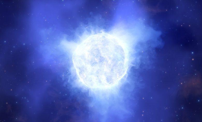 ناپدید شدن یک ستاره با اندازه ای ۱۰۰ برابر خورشید