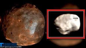 تصویر بزرگترین قمر مریخ توسط یک مدارگرد هندی ثبت شد