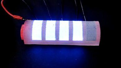 Photo of ساخت نوعی نمایشگر که می تواند روی سطوح اسپری شود