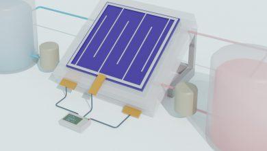 Photo of ساخت نوعی باتری خورشیدی که می تواند انرژی تجدیدپذیر را به شکل مایع ذخیره کند