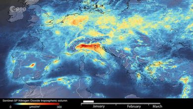 Photo of نظارت بر اثرات زیست محیطی و اجتماعی کرونا در جهان از طریق ماهوارههای فضایی