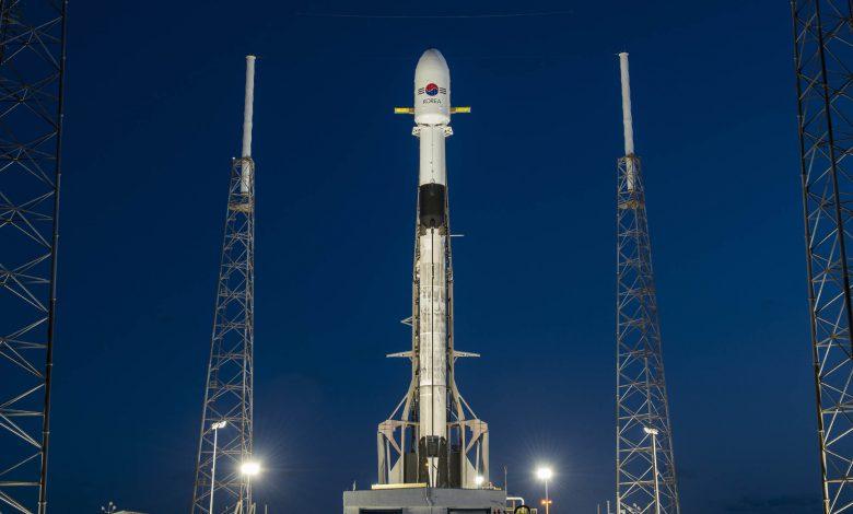قرارگیری ماهواره کره ای در مدار با کمک شرکت اسپیس ایکس