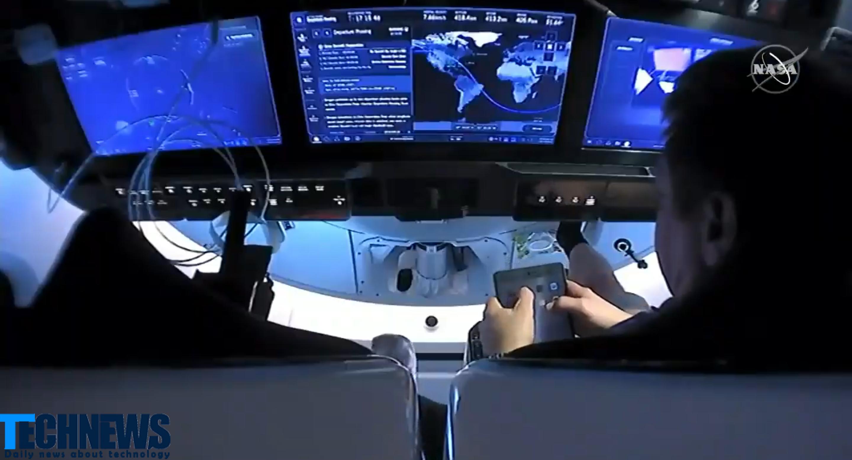 باگ آیپد فضانوردان اسپیس ایکس هنگام بازگشت به زمین چه بود؟