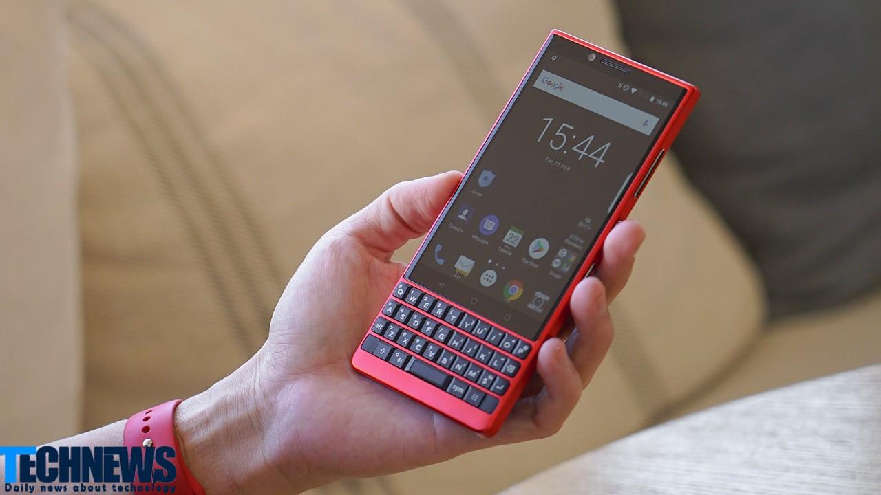 مدلهای جدید گوشیهای هوشمند بلکبری در سال 2021