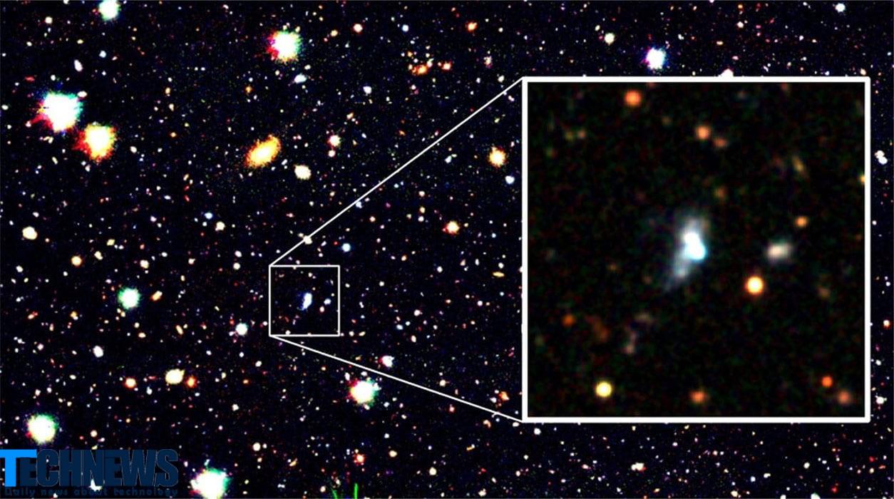 فناوری یادگیری ماشینی یک کهکشان با مقدار اکسیژن کم را شناسایی کرد