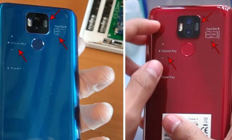 مشخصات گوشی صاایران و شباهت آن به گوشی چینی Ulefone Power 6