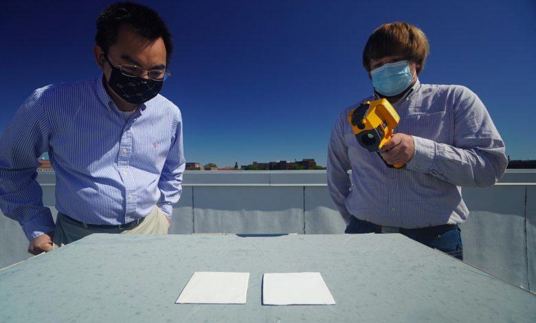 محققان نوعی رنگ سفید با خاصیت انعکاس 95.5 درصد نور خورشید ابداع کردهاند