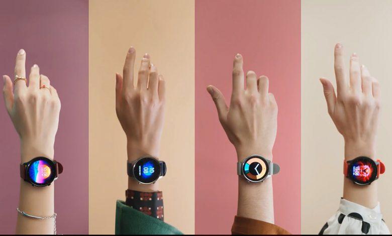 رونمایی شیائومی از نسخه اسپرت ساعت هوشمند می واچ کالر