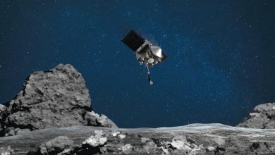 Photo of فضاپیمای ناسا نمونه های جمع آوری شده از سیارک بنو را به خارج از فضاپیما می ریزد