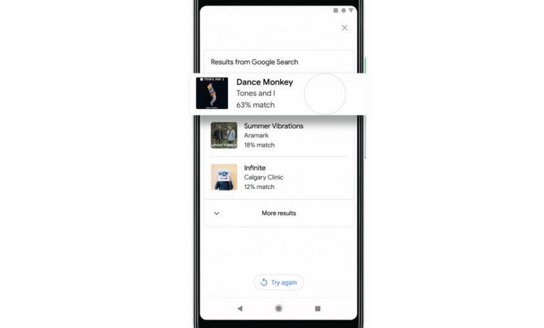 امکان جستجوی آهنگ از طریق زمزمه یا آواز خواندن در گوگل فراهم شد
