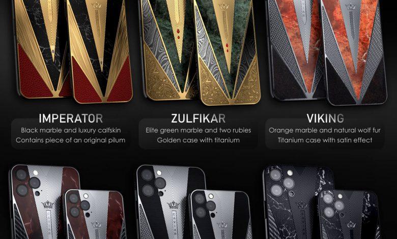 رونمایی از نسخه های لوکس آیفون ۱۲ توسط شرکت خاویار
