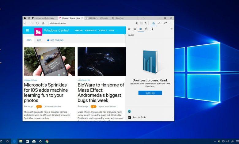 بروز رسانی مرورگر مایکروسافت اج و انبوهی از قابلیت های اضافه شده به آن