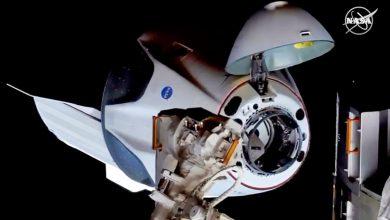 Photo of پرتاب سرنشیندار کپسول کرو دراگون اسپیس ایکس به مقصد ایستگاه فضایی