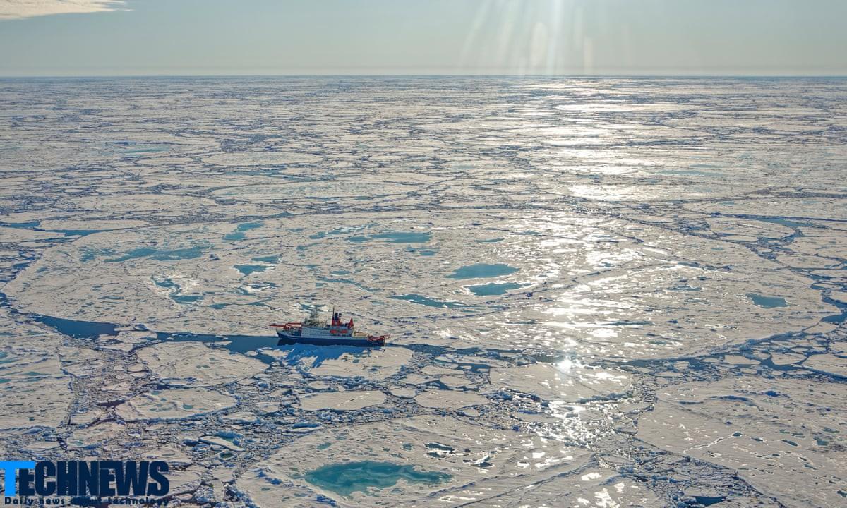 کنترل انتشار متان در اقیانوس منجمد شمالی توسط ماه