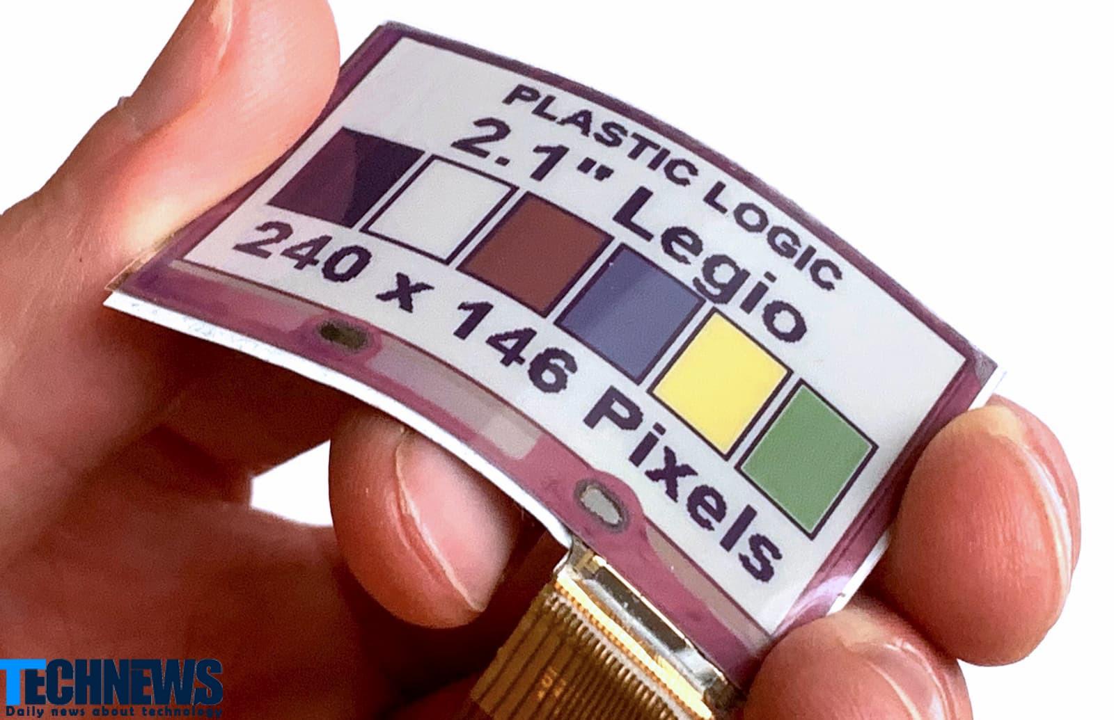 اضافه شدن نمایشگر جوهر الکترونیک رنگی و انعطافپذیر به گجت های پوشیدنی و لباس ها