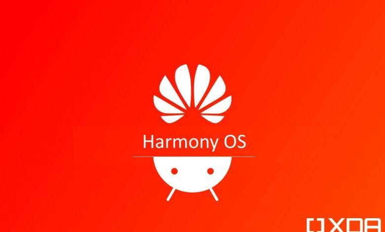 نسخه بتای سیستم عامل هارمونی ۲.۰  شباهت زیادی با اندروید دارد