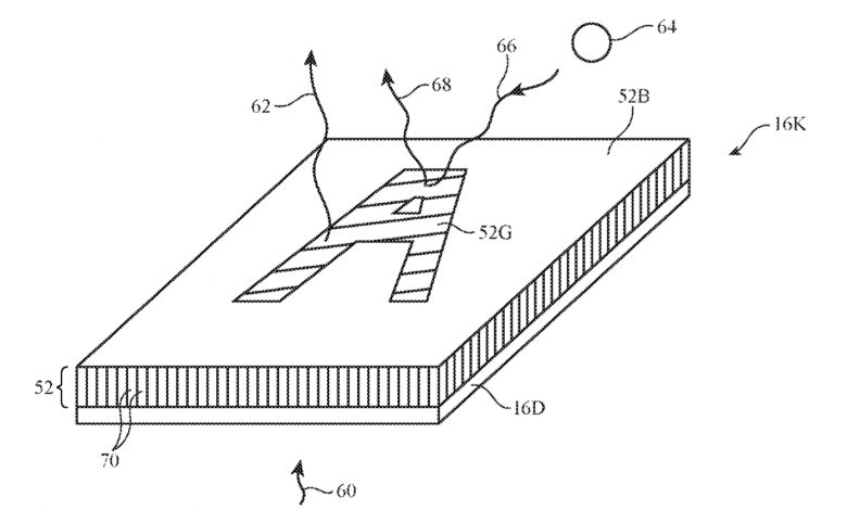 اپل پتنت جدیدی از یک کیبورد با قابلیت تغییر شکل لیبل ثبت کرده است