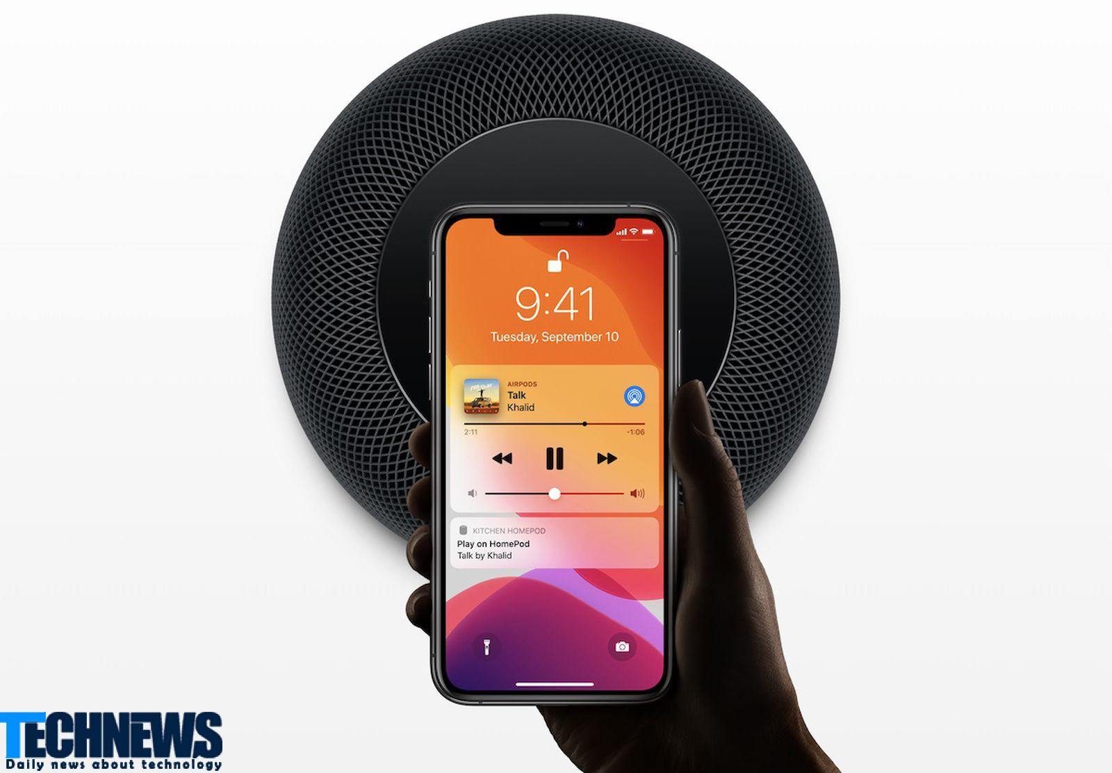 امکان پخش صداهای درخواستی کاربر توسط دستیار هوشمند اپل