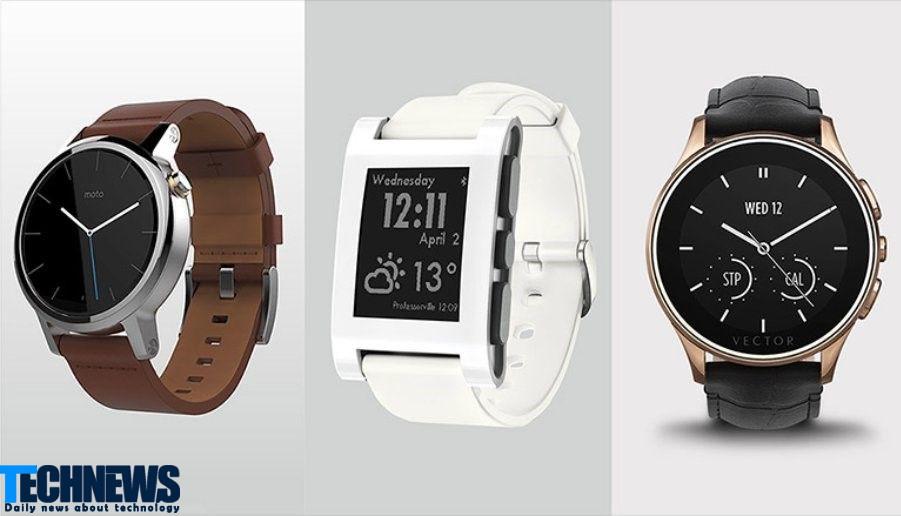 ساعت هوشمند ساده:
