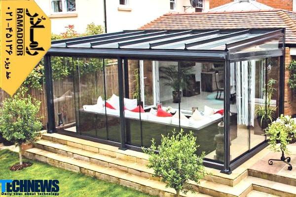 شیشه در معماری صنعت ساختمان | تکنا