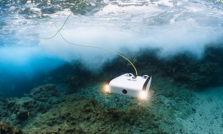 محققان از ربات های شناور برای بررسی برف دریایی استفاده کردند