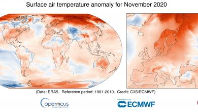 Photo of ثبت سال ۲۰۲۰ به عنوان گرمترین سال توسط سازمان هواشناسی جهانی