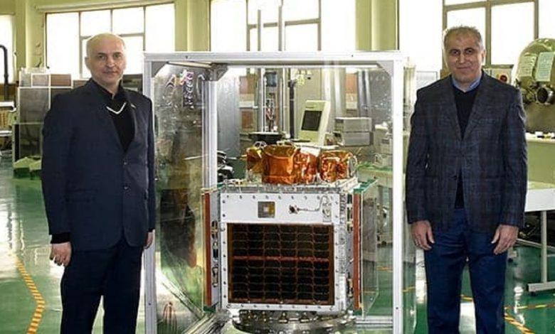اتمام آزمایشات ماهواره پارس ۱ و تحویل آن به سازمان فضایی ایران