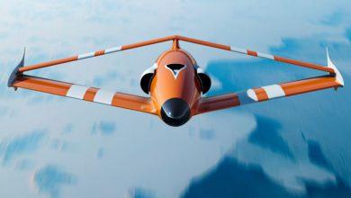 Photo of طراحی منحصر به فرد پهپاد شرکت FLY-R  با بال لوزی شکل