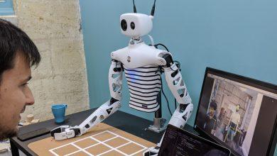 Photo of رباتی که کنترل آن از طریق واقعیت مجازی انجام می گیرد (CES 2021 )
