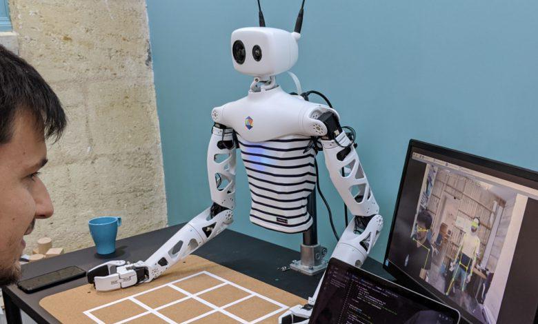 ساخت نوعی ربات که کنترل آن از طریق واقعیت مجازی انجام می گیرد (CES 2021 )