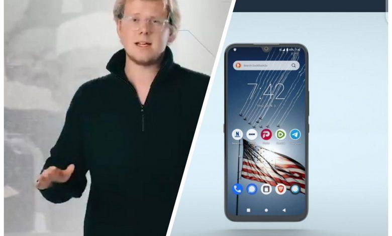 گوشی هوشمند آزادی با هدف مبارزه با سانسور غولهای فناوری معرفی شد
