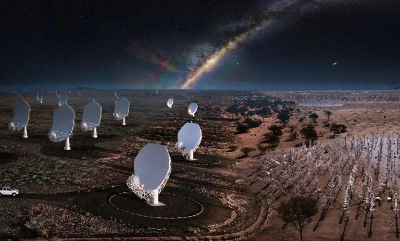 ساخت بزرگترین شبکه تلسکوپ جهان به نام رصد خانه آرایه کیلومتر مربع
