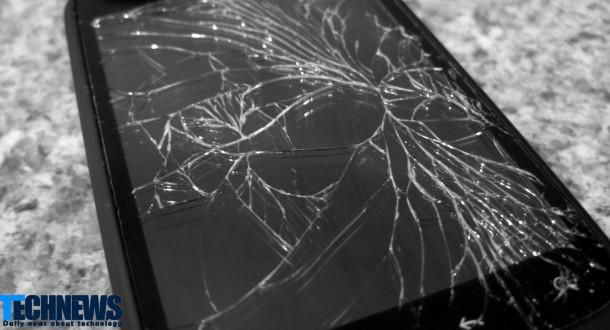 ماده ای که می تواند باعث ترمیم نمایشگر تلفن های هوشمند ترک خورده شود