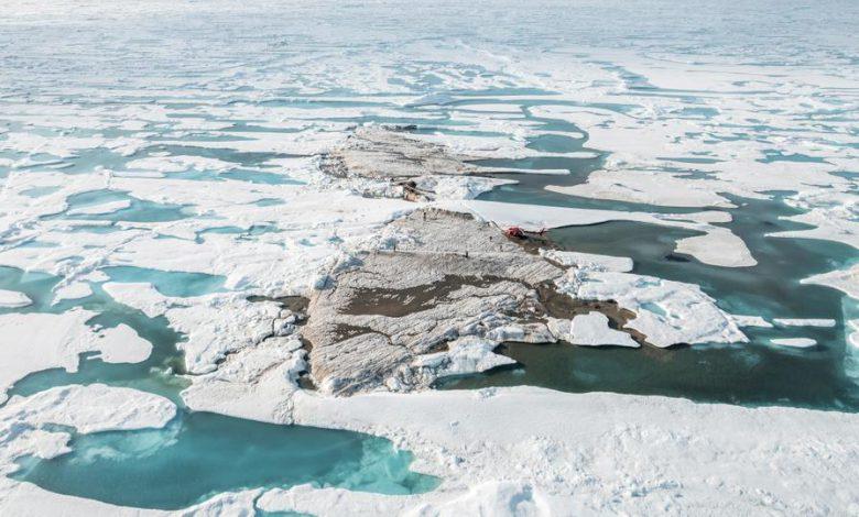 کشف یک جزیره جدید در شمالی ترین نقطه زمین