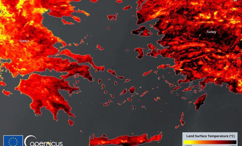 طبق داده های دمایی زمین ژوئیه امسال به عنوان گرمترین ماه ثبت شد
