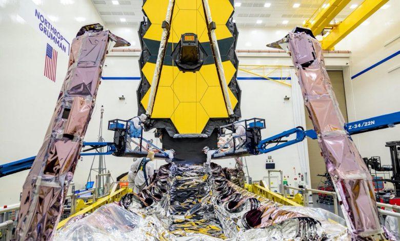 به گفته ناسا تلسکوپ جیمز پس از آزمایش های مختلف آماده پرتاب است